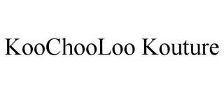 mark for KOOCHOOLOO KOUTURE, trademark #85559293