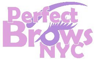 mark for PERFECT BROWS NYC, trademark #85559398