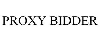 mark for PROXY BIDDER, trademark #85559407