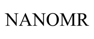 mark for NANOMR, trademark #85559784