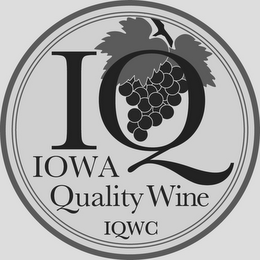 mark for IQ IOWA QUALITY WINE IQWC, trademark #85560158
