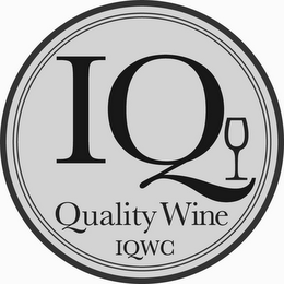 mark for IQ QUALITY WINE IQWC, trademark #85560200