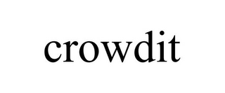 mark for CROWDIT, trademark #85560262