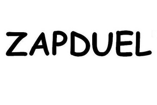 mark for ZAPDUEL, trademark #85560349