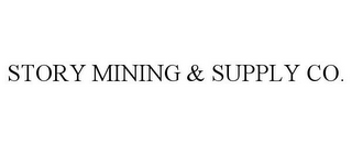 mark for STORY MINING & SUPPLY CO., trademark #85560632