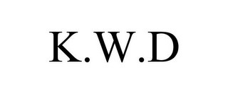 mark for K.W.D, trademark #85560730