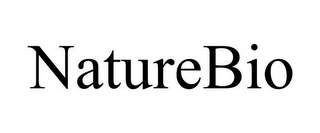 mark for NATUREBIO, trademark #85560918