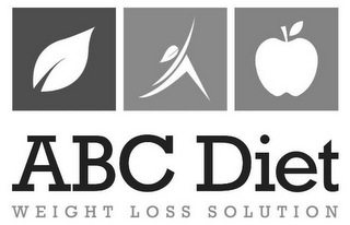 mark for ABC DIET WEIGHT LOSS SOLUTION, trademark #85561050