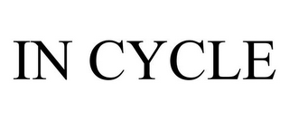mark for IN CYCLE, trademark #85561394