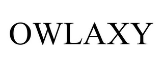 mark for OWLAXY, trademark #85561575