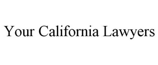 mark for YOUR CALIFORNIA LAWYERS, trademark #85561981