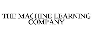 mark for THE MACHINE LEARNING COMPANY, trademark #85562303