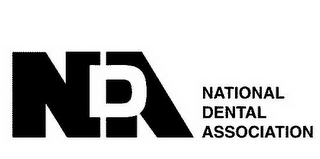mark for NDA NATIONAL DENTAL ASSOCIATION, trademark #85562454