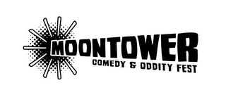 mark for MOONTOWER COMEDY & ODDITY FEST, trademark #85562613