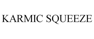 mark for KARMIC SQUEEZE, trademark #85562665