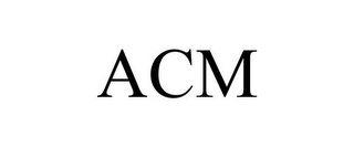 mark for ACM, trademark #85562704