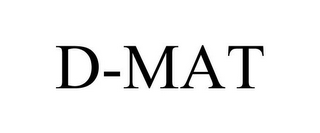mark for D-MAT, trademark #85562949