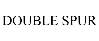 mark for DOUBLE SPUR, trademark #85563114