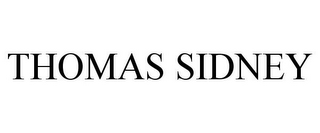 mark for THOMAS SIDNEY, trademark #85563169