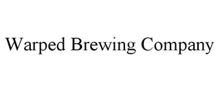 mark for WARPED BREWING COMPANY, trademark #85563517