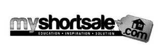 mark for MYSHORTSALE.COM EDUCATION INSPIRATION SOLUTION, trademark #85563793