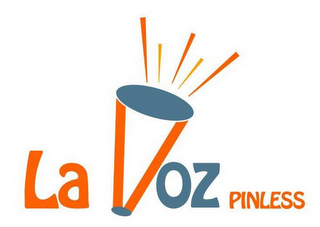 mark for LA VOZ PINLESS, trademark #85563908