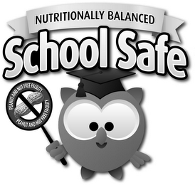mark for NUTRITIONALLY BALANCED SCHOOL SAFE PEANUT AND NUT FREE FACILITY, trademark #85563963