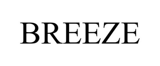 mark for BREEZE, trademark #85563987