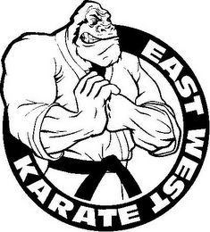 mark for EAST WEST KARATE, trademark #85564252