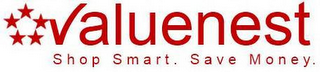mark for VALUENEST SHOP SMART. SAVE MONEY., trademark #85564400