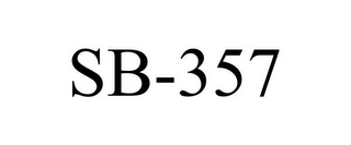 mark for SB-357, trademark #85564466