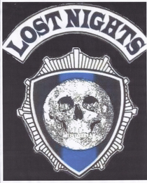 mark for LOST NIGHTS, trademark #85564987