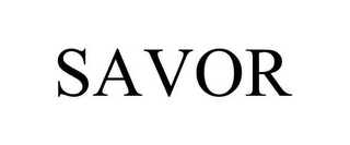 mark for SAVOR, trademark #85565055