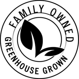 mark for FAMILY OWNED GREENHOUSE GROWN, trademark #85565163