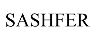 mark for SASHFER, trademark #85565441