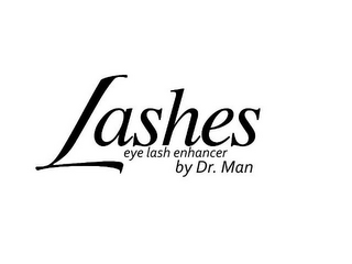 mark for LASHES EYE LASH ENHANCER BY DR. MAN, trademark #85565781