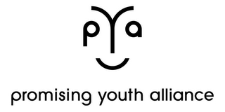 mark for PYA PROMISING YOUTH ALLIANCE, trademark #85565821