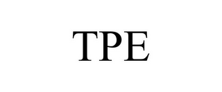 mark for TPE, trademark #85566418