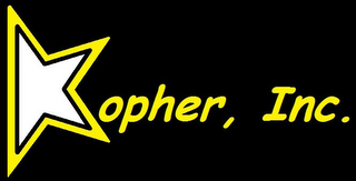 mark for KOPHER, INC., trademark #85566504