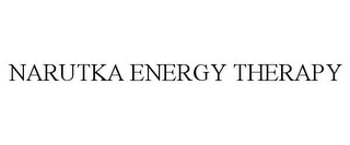 mark for NARUTKA ENERGY THERAPY, trademark #85566977
