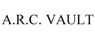 mark for A.R.C. VAULT, trademark #85567083