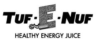 mark for TUF - E - NUF HEALTHY ENERGY JUICE, trademark #85567370