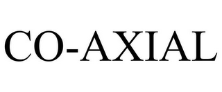 mark for CO-AXIAL, trademark #85567398