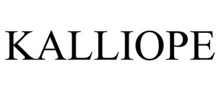 mark for KALLIOPE, trademark #85567507