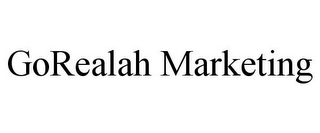 mark for GOREALAH MARKETING, trademark #85567534