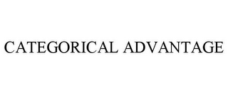 mark for CATEGORICAL ADVANTAGE, trademark #85567618