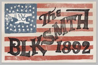 mark for WC THE BLKSMTH 1892, trademark #85567660
