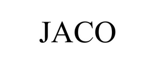 mark for JACO, trademark #85567686