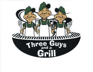 mark for THREE GUYS AND A GRILL, trademark #85567762