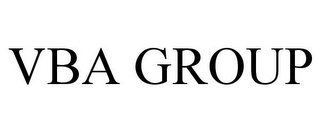 mark for VBA GROUP, trademark #85567969